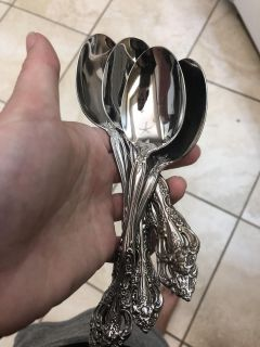 6 Sterling Silver Spoons