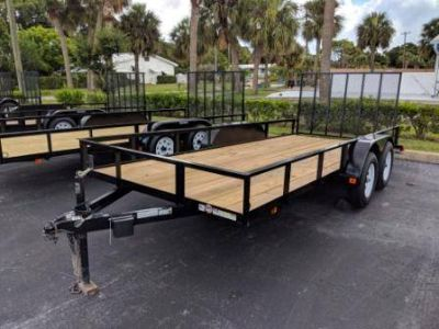 2018 Triple Crown 6X16 Utility with Brakes Utility Trailers Trailers Fort Pierce, FL