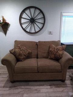Nice couch and loveseat set