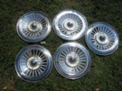 Wheel covers..1957 and 1959 Ford