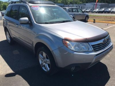2010 Subaru Forester 2.5X Limited (Steel Silver Metallic)