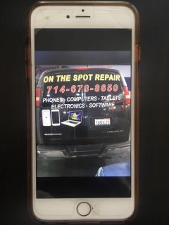 We come to you iPhone and Laptop repair on the spot
