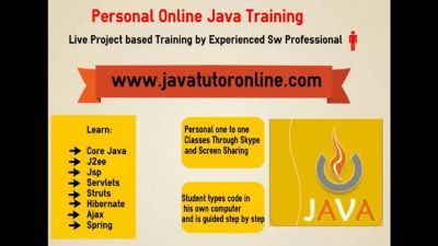 Private Java J2ee Spring Training with Live Project