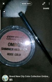 Brand new city color collection ombre highlighter