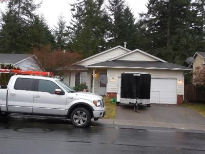 3 Bed 2 Bath Preforeclosure Property in Spanaway, WA 98387 - 196th Street Ct E
