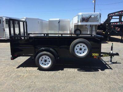 8ft Single Axle Vanguard, Utility Trailer, Big Tex Trailer 30SV-08