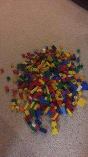 Lots and lots of Duplo Legos!