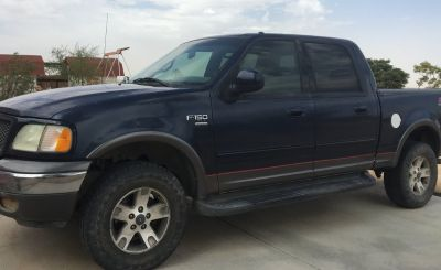2002 Ford F-150 King Ranch SuperCab FX4