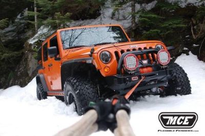 Sell MCE Enterprises Jeep JK Hi Clearance Flexible Fender Flares Gen II Textured motorcycle in Redondo Beach, California, United States, for US $645.00