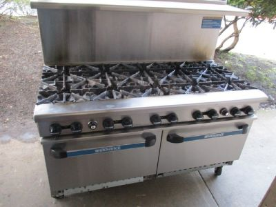 Turbo Air 10 Burner Range Oven RTR# 7021663-08