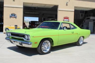 1970 road runner sassy grass green frame off