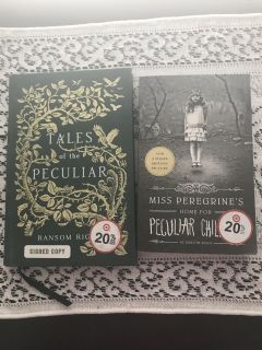 2 books by Ransom Riggs