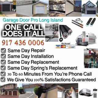RELIABLE GARAGE DOOR REPAIR AND INSTALLATION SERVICE NEW YORK AND LONG ISLAND