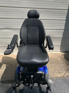 New with tags Pride Mobility power wheelchair