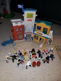 Sheriff playset with figurines