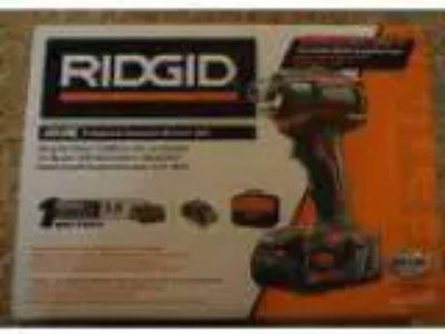 BRAND NEW Ridgid GENX -Volt Li-Ion Cordless Impact Driver kit