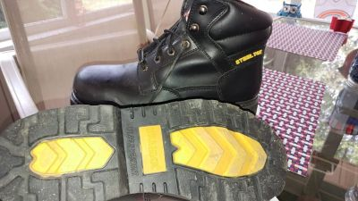 MEN'S BRAHMA STEEL TOE WORK BOOTS ~ SIZE 11W