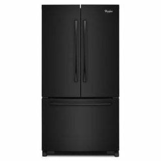 "Whirlpool 36"" French Door Refrigerator *Closeout* WRF535SMBB"