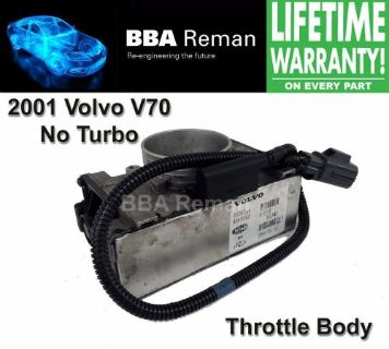 Find 2001 Volvo V70 Non-Turbo Marelli Throttle Body Repair Throttlebody 01 V 70 motorcycle in Taunton, Massachusetts, United States