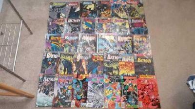 $25 32 Batman Comics 1983-1993