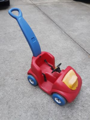 Little Tykes push car