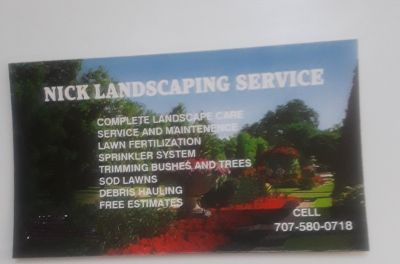 Landscaping service