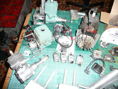 Ryobi 31cc Gas Engines Conversion