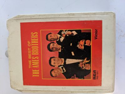 8 track Ames Brothers