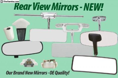 Rear View Mirrors - Stock Replacement