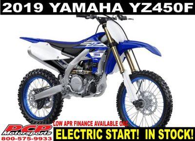 2019 Yamaha YZ450F Motocross Off Road Motorcycles Sacramento, CA
