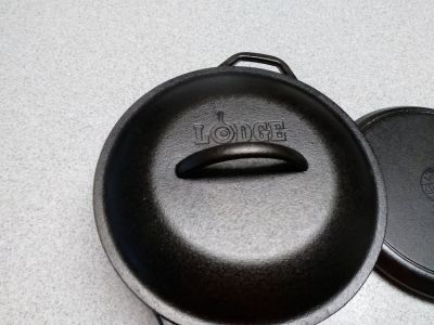 LODGE pot and pans