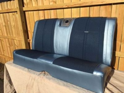 Sell 1964 Impala SS Rear Seat Blue OEM NOS Spealer motorcycle in Portage, Indiana, United States, for US $250.00