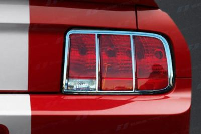 Buy SES Trims TI-TL-123 Ford Mustang Taillight Bezels Covers Chrome Ring Trim ABS motorcycle in Bowie, Maryland, US, for US $78.00