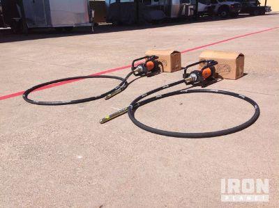 Lot of (2) GWalker CNGV-2 Concrete Vibrators - Unused