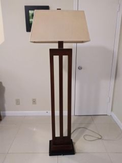 Special Deal - 2 vintage lamps (1 table, 1 floor)