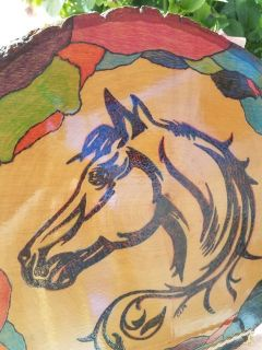 Handcrafted Horse Art!