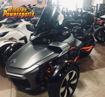 2015 Can-Am Spyder F3-S SM6 3 Wheel Motorcycle Barre, MA
