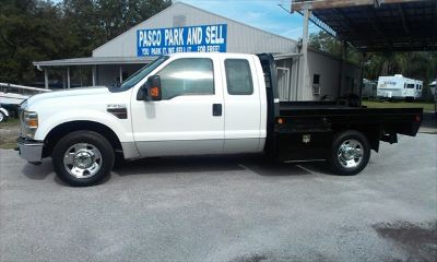 2008 Ford F-250 Super Duty XLT Diesel Extended Cab with Flatbed