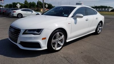 2012 Audi A7 3.0T quattro Premium (White)