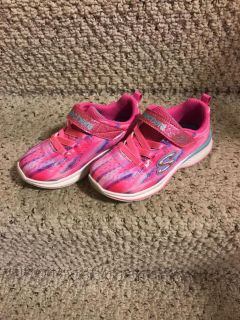Sketchers size 9Toddler Velcro shoes
