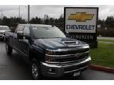 2019 Chevrolet Silverado 3500 Blue, new