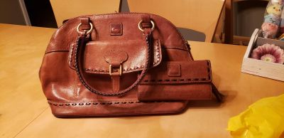 Dooney & Bourke purse and wallet - leather