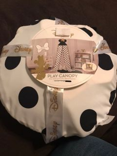Minnie mouse play canopy