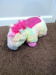 Light up unicorn pillow pet - great condition