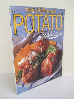Vintage 1993 The Popular Potato Best Recipes by Valwyn Mcmonigal Book