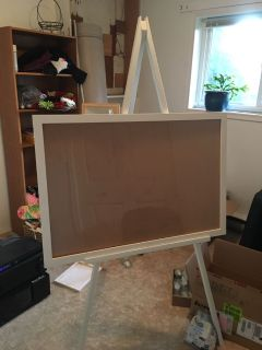 Easel and picture frame
