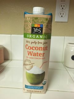 Organic Coconut Water 33.8oz NEW