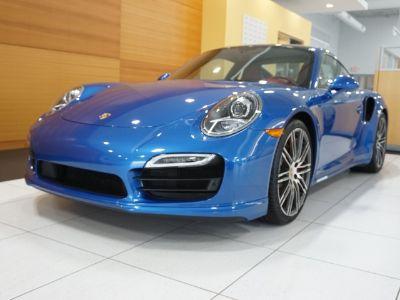 2015 Porsche 911 Turbo (Sapphire Blue Metallic)