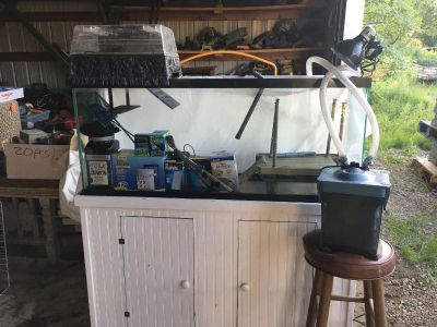 Turtle / Fish Aquarium with stand and many accessories